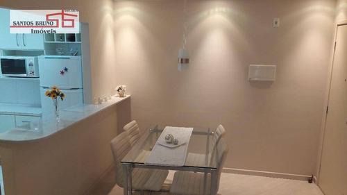 Apartamento Com 2 Dormitórios À Venda, 50 M² Por R$ 299.000,00 - Limão (zona Norte) - São Paulo/sp - Ap0926
