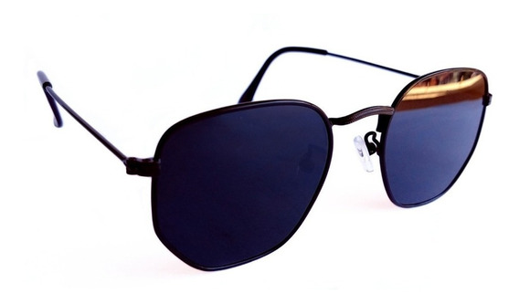 Óculos De Sol Feminino Hexagonal Verão Super Promoção