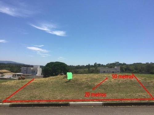 Imagem 1 de 5 de Excelente Terreno À Venda, 1000 M² Por R$ 220.000 - Condomínio Terras De São Lucas - Sorocaba/sp. - Te0133 - 67640111