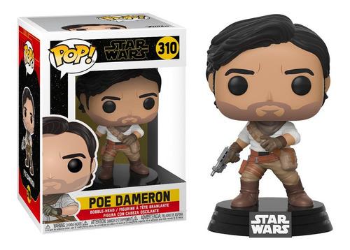 Funko Pop #310 Poe Dameron - Star Wars Episodio 9 - Original