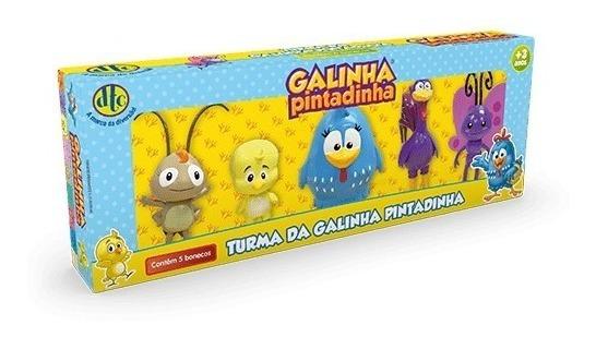 Turma Da Galinha Pintadinha 5 Bonecos Dtc