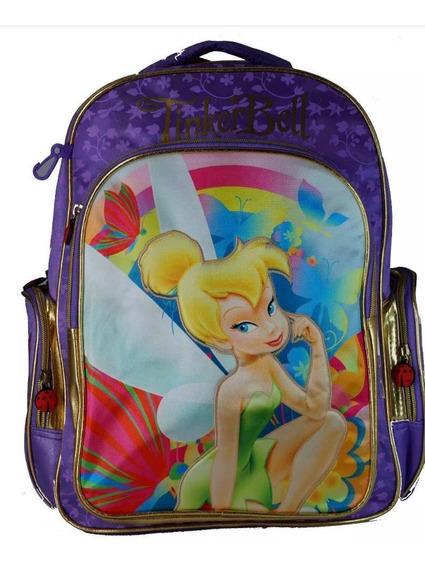 Mochila Hadas Campanita Disney De 16