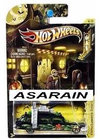 Ghostbusters Ecto 1 Halloween Caça Fantasmas Hot Wheels 1/64