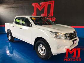 Nissan Np300 Doble Cabina Se Mt 2016 Blanca $ 235,000