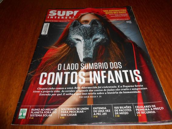 Revista Super Interessante Lado Sombrio Dos Contos Infaltil