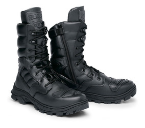 Coturno Bota Militar Tática Airsoft Policial Rossi Thunder