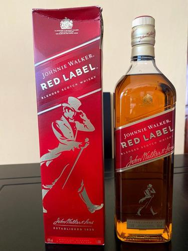 Imagen 1 de 9 de Whisky Johnnie Rojo Y Something Special Litro 100 % Original