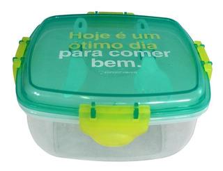 Lunch Box Térmica Para Salada Comer Bem