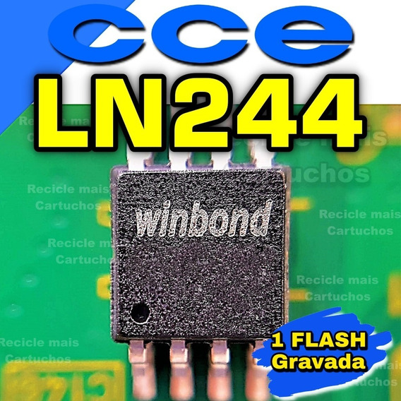Memoria Flash Tv Cce Ln244 Chip Bios Ci Eeprom Gravada