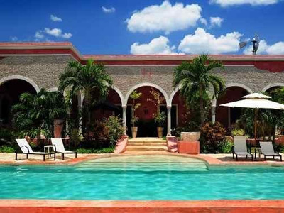 Hacienda En Izamal Yucatan Mexico