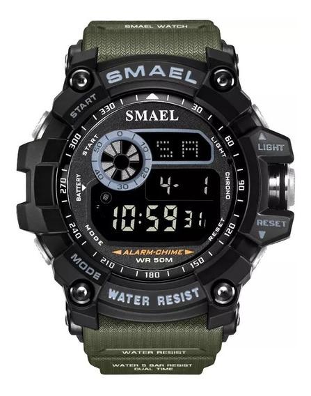 Relógio Smael Digital Tático Militar Prova D