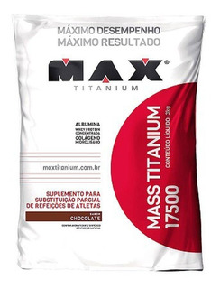 Mass Titanium 17500 3kg Refil - Max Titanium - Promoção