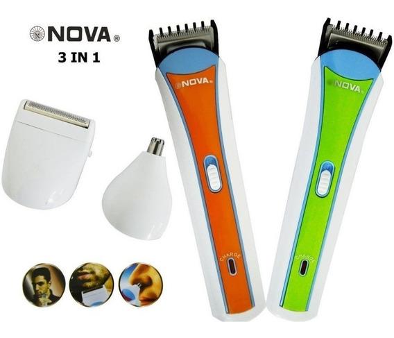 Rasuradora Afeitadora Cortadora De Cabello Barba Y Bigote