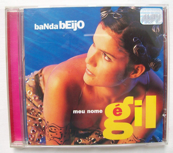 Cd Original De Banda Beijo.