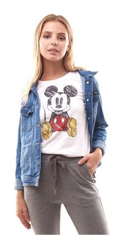 Remera Mickey Estampada
