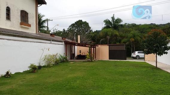Casa À Venda - Condomínio Jardim Albamar - Praia De Pernambuco - Guarujá - Ca1655