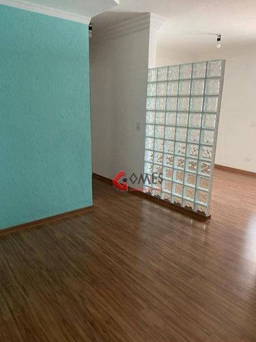Apartamento Com 2 Dormitórios À Venda, 70 M² Por R$ 380.000,00 - Vila Euclides - São Bernardo Do Campo/sp - Ap2853