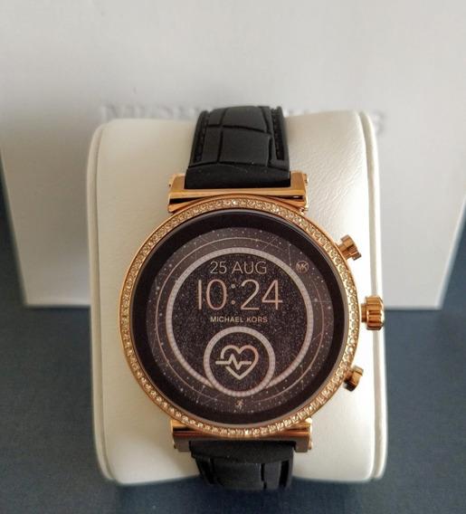 Relógio Michael Kors Access Mkt5069 Smartwatch Swarovski Mk