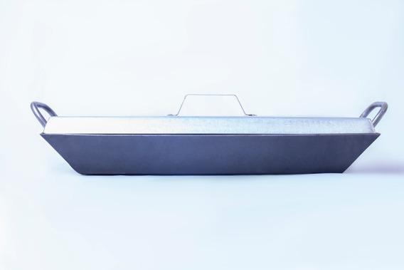 Plancheta 2 Hornallas 3.2mm Espesor + Tapa + 8cm/altura