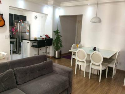 Apartamento Com 2 Dormitórios À Venda, 74 M² Por R$ 424.000 - Jardim Tupanci - Barueri/sp - Ap0114