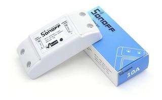Interruptor De Luz Con Celular Wifi Sonoff Domótica