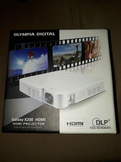 Projetor Digital Hdmi Galaxy X200