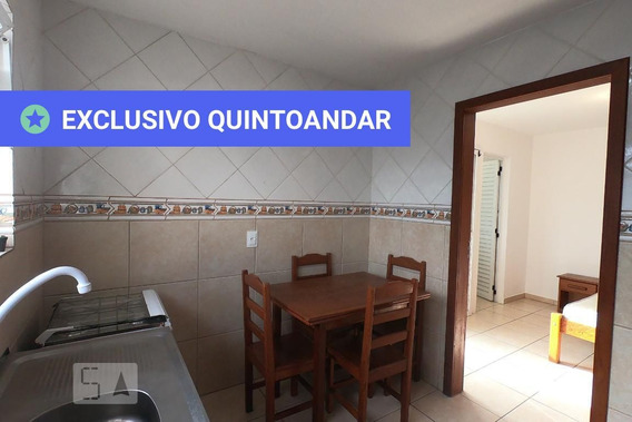 Apartamento No 4º Andar Mobiliado Com 1 Dormitório - Id: 892968014 - 268014