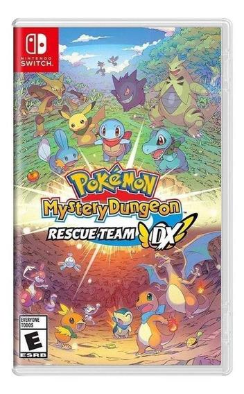 Pokémon Mystery Dungeon Rescue Team Dx Switch Mídia Física