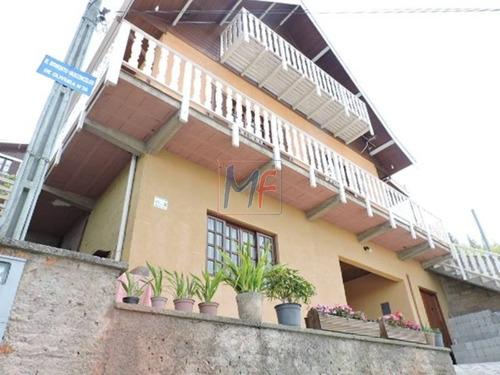 Imagem 1 de 22 de Ref 9811 - Excelente Casa Assobradada Para Venda No Bairro Vila Elisa Com  4 Dorms, Sendo  1 Suíte, 5 Vagas, 157,72 M ! - 9811