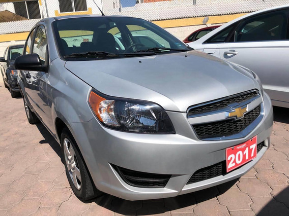 Chevrolet Aveo Ls Automático 2017 Plata, Hangar Galerias