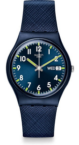Relógio Swatch Sir Blue - Gn718