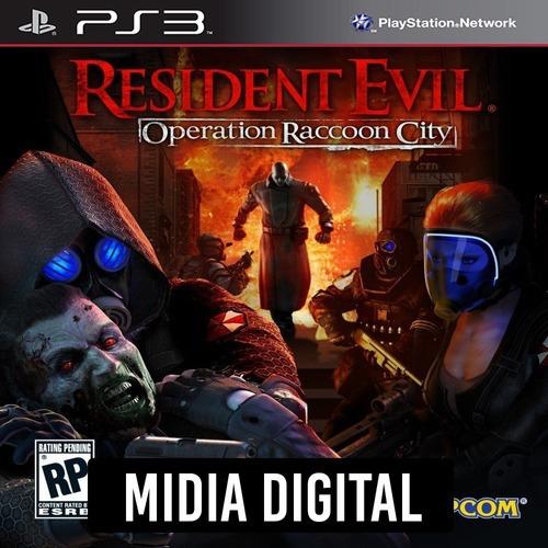Resident Evil Operation Raccon City - Ps3 Psn*