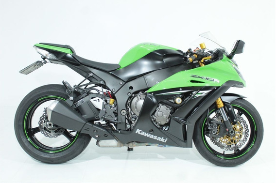 Kawasaki Ninja Zx-10r 2014 Verde