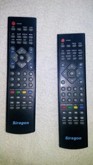 Controles Tv Siragon