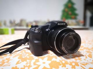Cámara Profesional Digital Sony 30x 18.2mpx Perfecto Estado