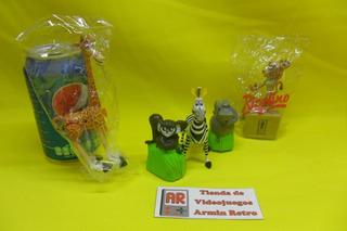 Figuras De Coleccion Completa Madagascar Ricolino Año 2005