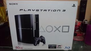 Sony Play Station 3 Fat 80gb Nuevo Cechl11 Sellada