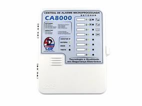 Central De Alarme 8 Setores Ca8000 Zse Com 2 Controles