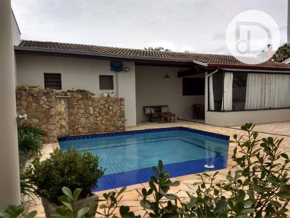Casa Com 4 Dormitórios À Venda, 320 M² Por R$ 1.100.000,00 - Jardim Recanto - Valinhos/sp - Ca3570