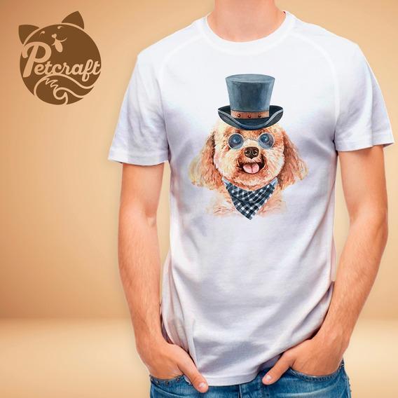 Polera Poodle Con Sombrero