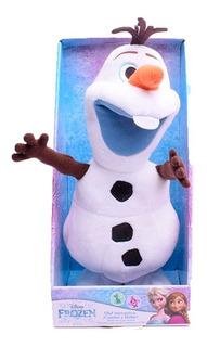 Peluche Olaf Frozen - Interactivo Camina Repite Lo Que Dice