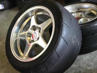 Rines 17 5/120 Chevrolet Corvette, Llantas Anchas