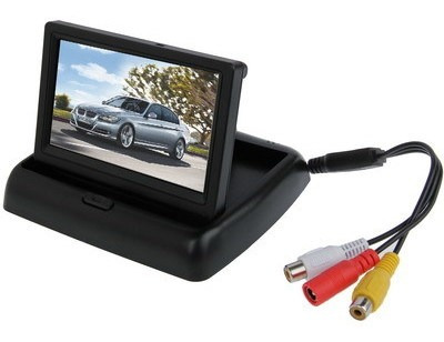 Monitor Vehiculo Plegable Color Tft Lcd 4.3 Tipo Pal