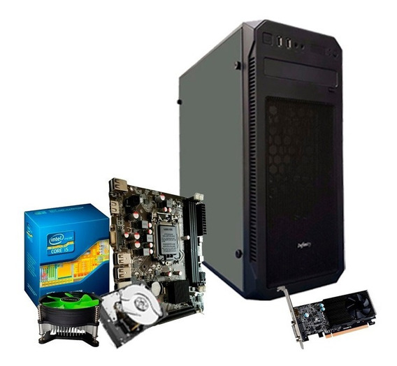 Pc Gamer I5 3470 3.6 Ghz , Hd 500, 8gb, Gf 2gb 1030 Gt + Nfe