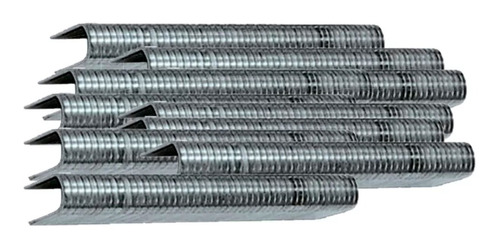 Imagem 1 de 3 de Grampos Tipo 36u 12mm 1000 Unidades P/ Grampeador Mtx 414129