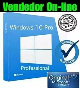 Windows 10 Pro Key Serial Chave Licença Ativação Online