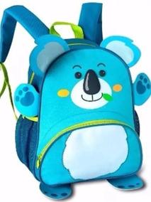 Mochila Infantil Animais Zoo Original Clio Pets Frete Coala.