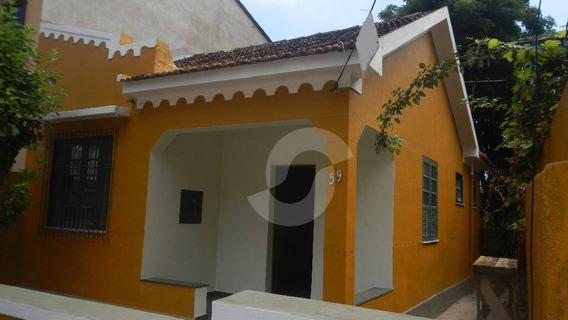 Casa Residencial À Venda, Largo Do Barradas, Niterói. - Ca0748