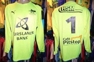 Fc Djursland Da Dinamarca 2016 Camisa Goleiro Gg Número 1.