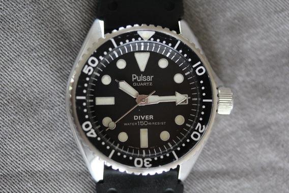 Seiko Pulsar Diver 150m Quartz Y514 My923 Super Raro
